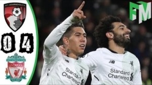 Video: Bournemouth vs Liverpool 0-4 All Highlights & Goals 17 Dec 2017
